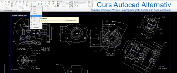 imagine Curs Autocad Alternativ
