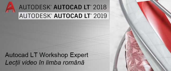 imagine Curs Autocad LT 2018 Workshop