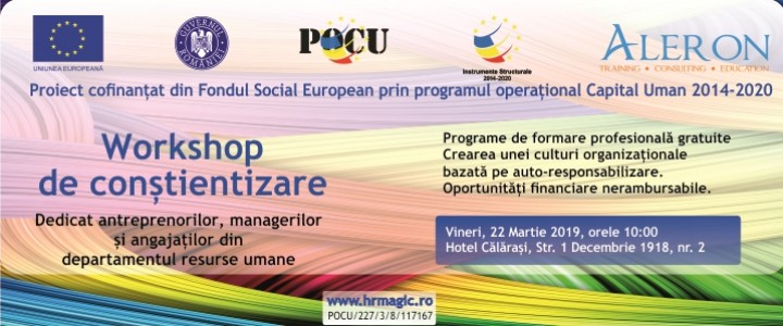 imagine Workshop HRM de conștientizare și informare