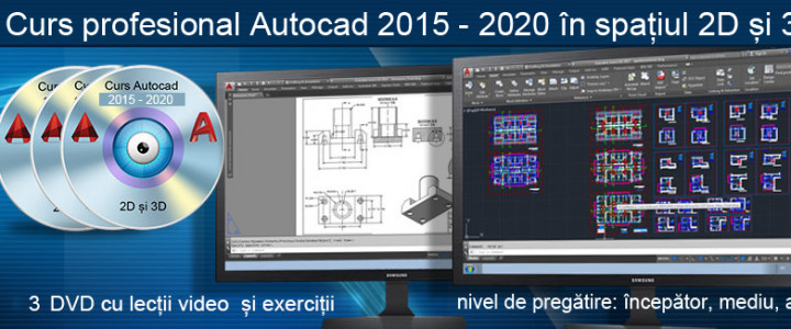 imagine Curs Autocad 2015, 2016, 2017