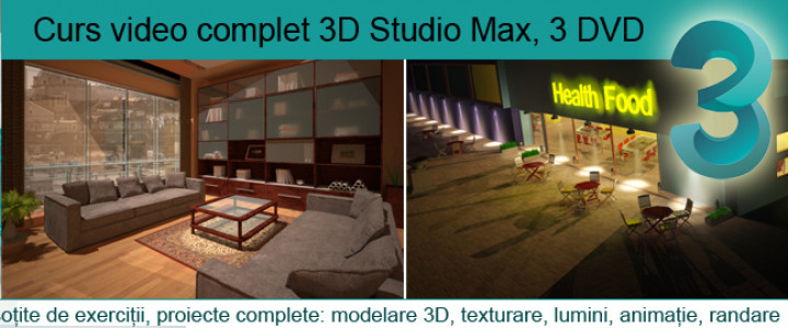 imagine Curs 3D Studio Max