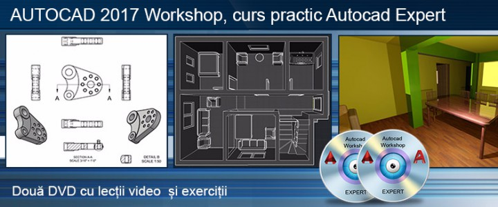 imagine Curs practic Autocad 2017 workshop